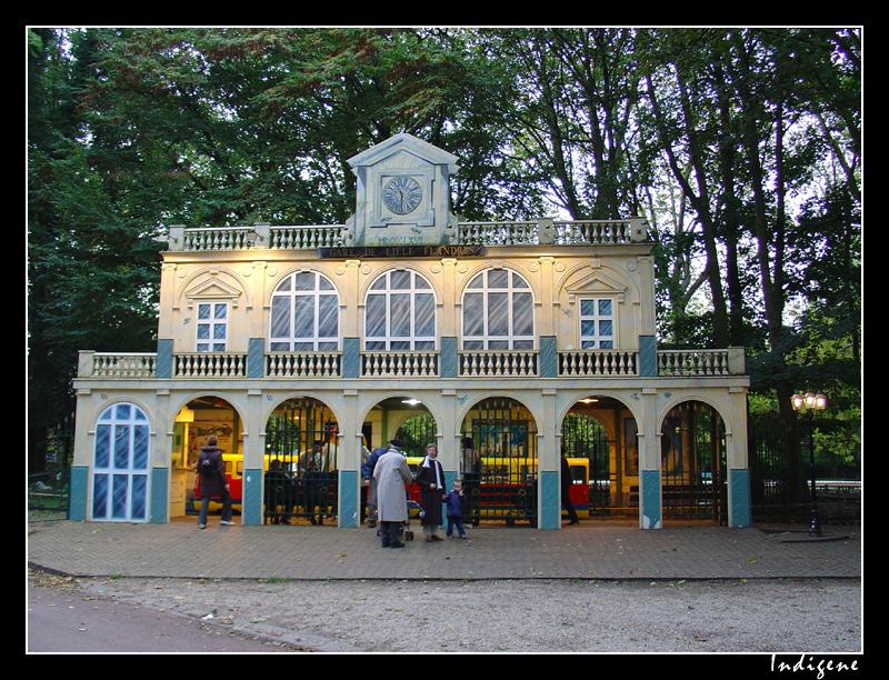 Gare Lille-Flandres au zoo de Lille
