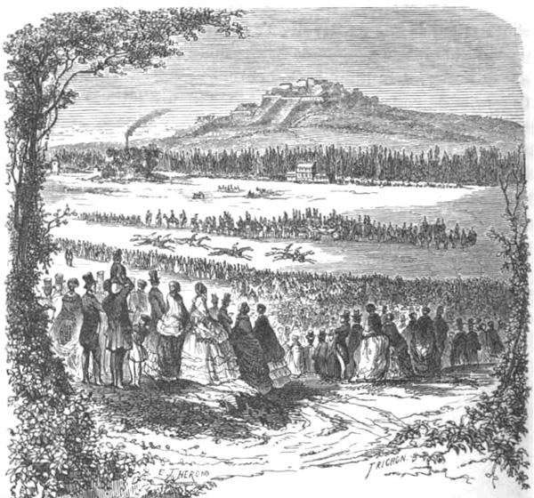 Hippodrome de Longchamp au XIXe siècle