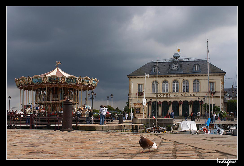 L'Hôtel de Ville d'Honfleur