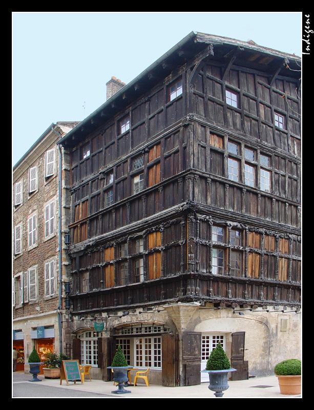 La Maison de Bois à Mâcon