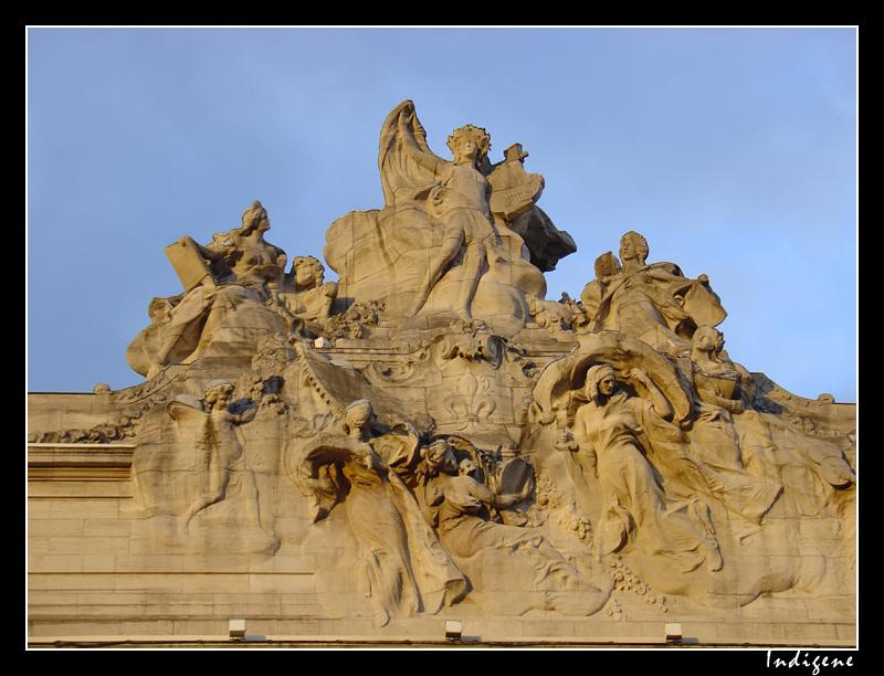 Sculptures de l'Opéra de Lille